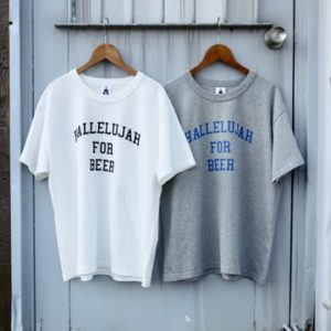 TACOMA FUJI RECORDS  HALLELUJAH FOR BEER Tee