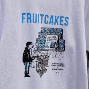 TACOMA FUJI RECORDS  FRUITCAKES / DUB DIET CLUB Tee