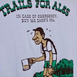 TACOMA FUJI RECORDS  TRAILS FOR ALES by GOOD BEER TAPS Tee