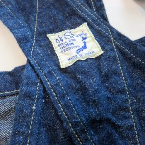 orSlow denim overall