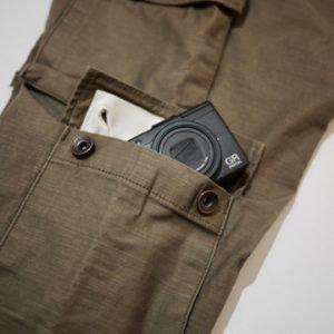 8 POCKET PANTS S/S -BEG-