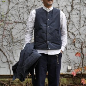 Travel Vest -BEG / NVY-