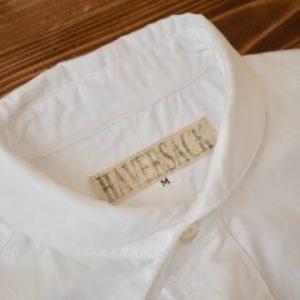HAVERSACK 別注ショールカラーシャツ