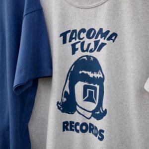 TACOMA FUJI RECORDS  LOGO Tee