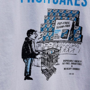 TACOMA FUJI RECORDS  FRUITCAKES / DUB DIET CLUB Tee