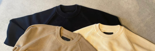 DELICIOUS~Cotton Crew Knit~